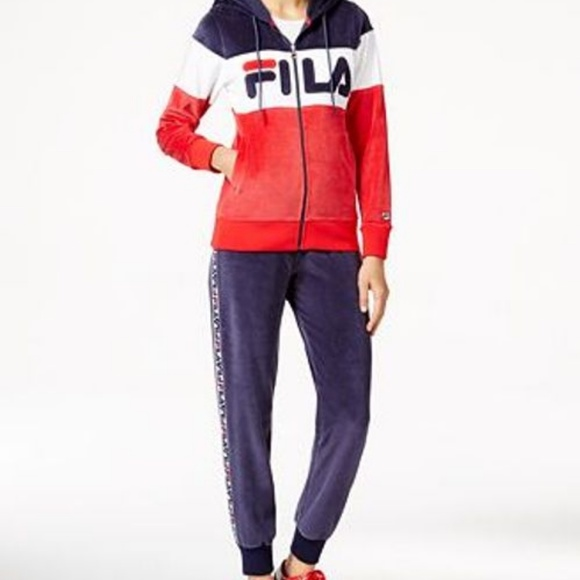 speical offer latest style of 2019 best loved New fila large women's tracksuit